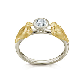 Dove 9ct Gold Ring - DWYR252