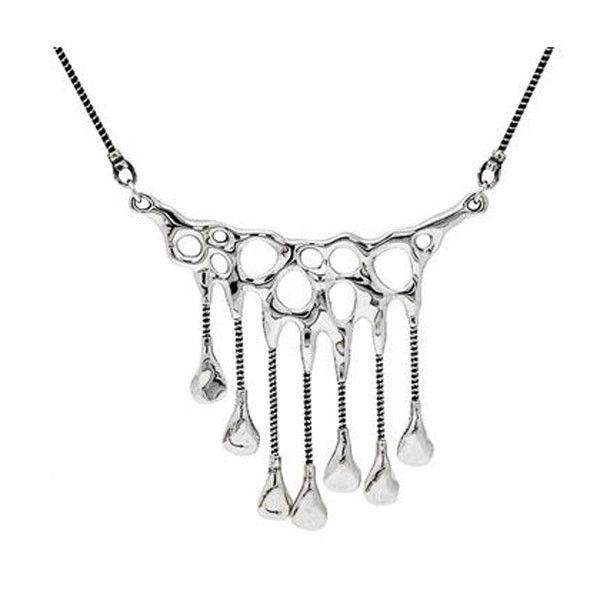 Hagit Gorali Silver Necklace -N125-Ogham Jewellery