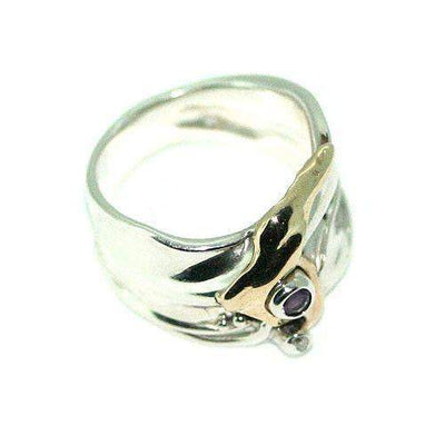 Hagit Gorali Sterling Silver Designer Ring -A289-Ogham Jewellery