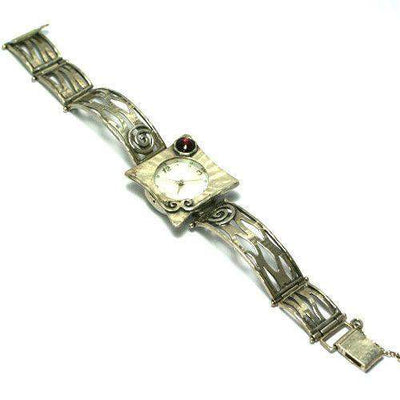 Hand Finished Silver Watch W2653-Ogham Jewellery