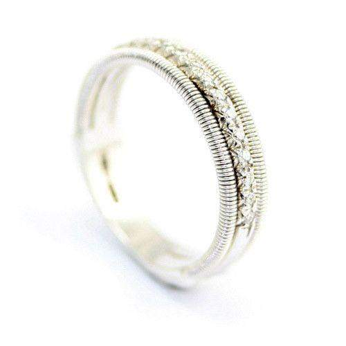 Havana 18ct Gold Ring AG99B-Ogham Jewellery