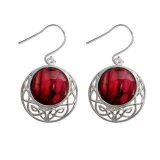 Heather Cormag Celtic Drop Earrings - HE88