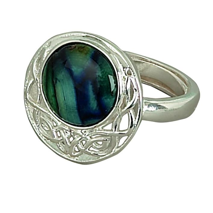 Heather Cormag Ring - HR12-Ogham Jewellery