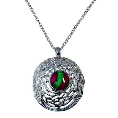 Heather Nest Pendant - HP92-Ogham Jewellery