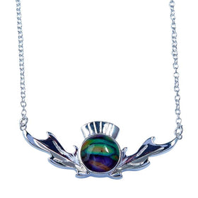Heather Thistle Necklace - HP93-Ogham Jewellery