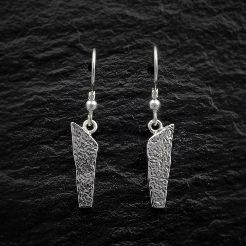 Heilagr Brodgar Hanging Earrings - EX12-Ogham Jewellery