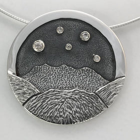 Heilagr Islands View Necklace - SNX1-Ogham Jewellery