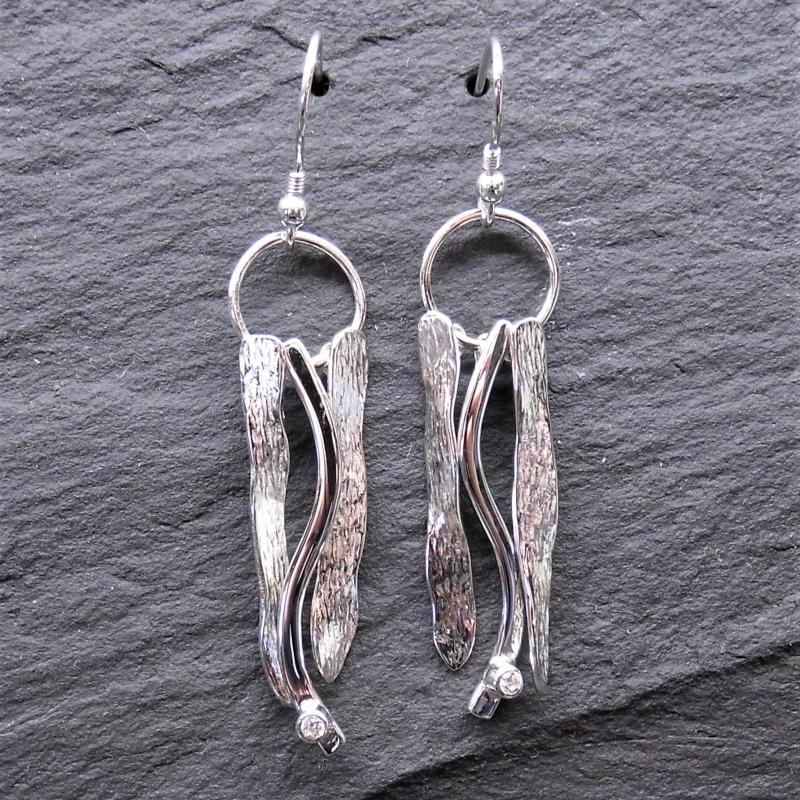 Heilagr Shoreside Tangles Drop Earrings - EXX13-Ogham Jewellery
