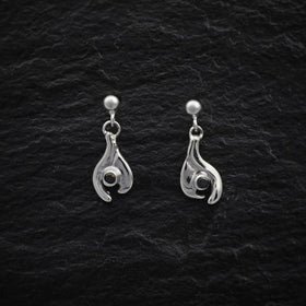 Heilagr Simply Elegant Drop Earrings - SE10-Ogham Jewellery