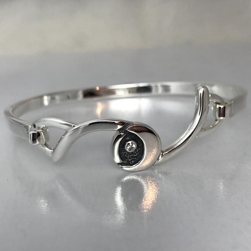 Heilagr Starry Night Bangle - SBLX8-Ogham Jewellery