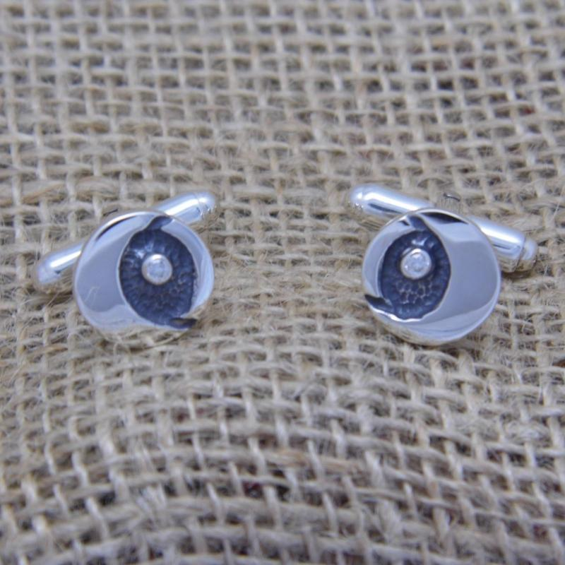 Heilagr Starry Night Cufflinks - SCL8-Ogham Jewellery