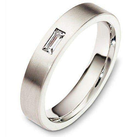 Ladies Diamond Wedding Ring - 9ct / 18ct White or Yellow Gold, Palladium or Platinum, W3068-Ogham Jewellery