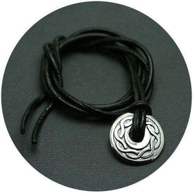 Mithril Silver Celtic Amulet - KNOT-1-Ogham Jewellery
