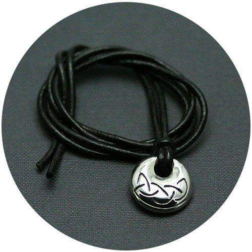 Mithril Silver Celtic Amulet - KNOT 2-Ogham Jewellery
