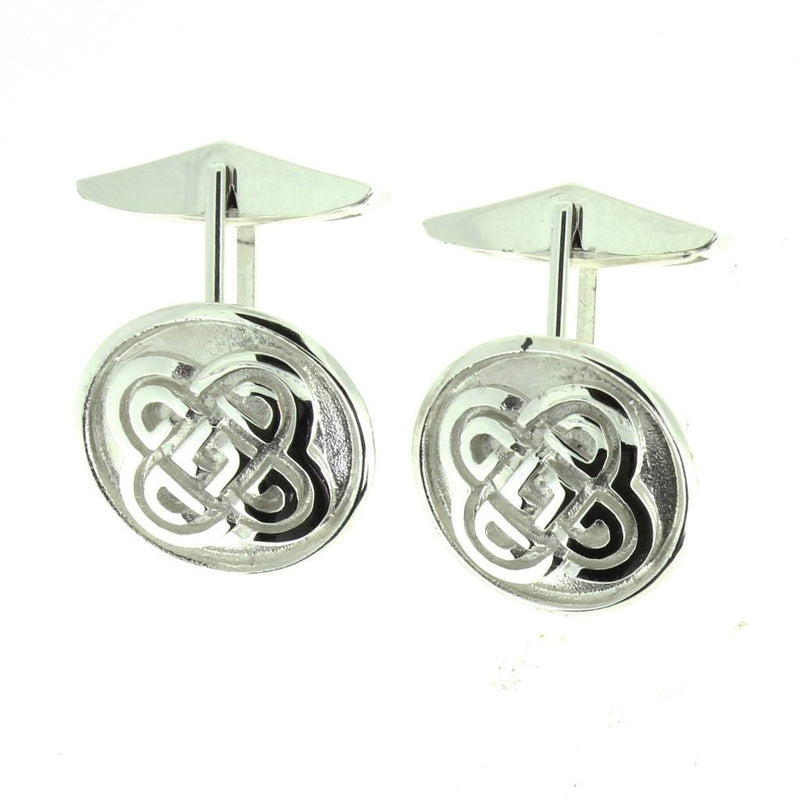 Mithril Silver Celtic Cufflinks C16-Ogham Jewellery