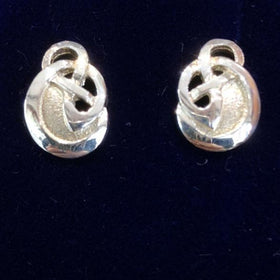 Mithril Silver Celtic Earrings C73 S/E-Ogham Jewellery
