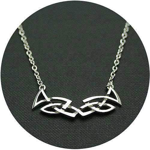 Mithril Silver Celtic Necklace C21-Ogham Jewellery