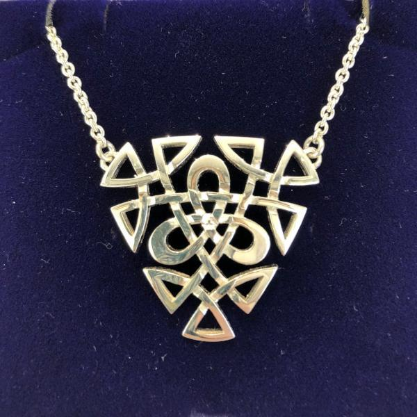 Mithril Silver Celtic Necklace C24-Ogham Jewellery