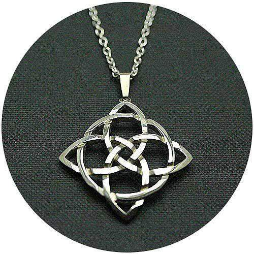 Silver Celtic Necklace C26