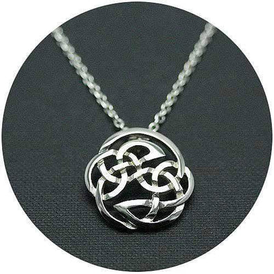 Mithril Silver Celtic Necklace C27-Ogham Jewellery