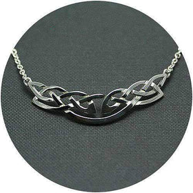 Mithril Silver Celtic Necklace 071B-Ogham Jewellery
