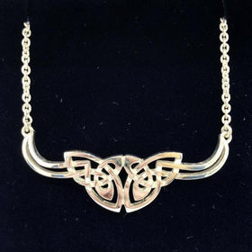 Mithril Silver Celtic Necklace C47-Ogham Jewellery