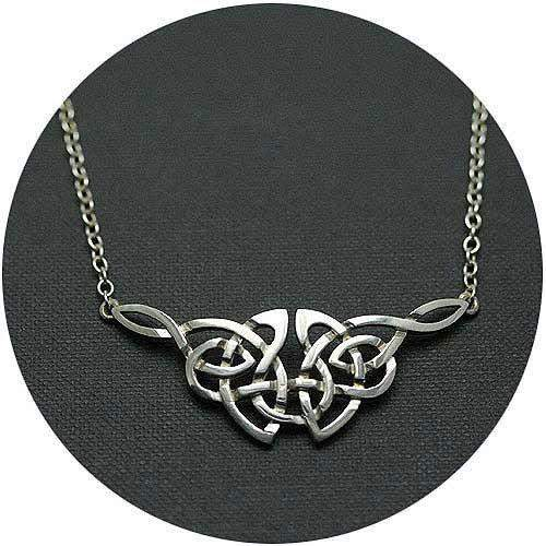Mithril Silver Celtic Necklace C55-Ogham Jewellery