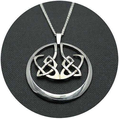 Mithril Silver Celtic Necklace N3-Ogham Jewellery