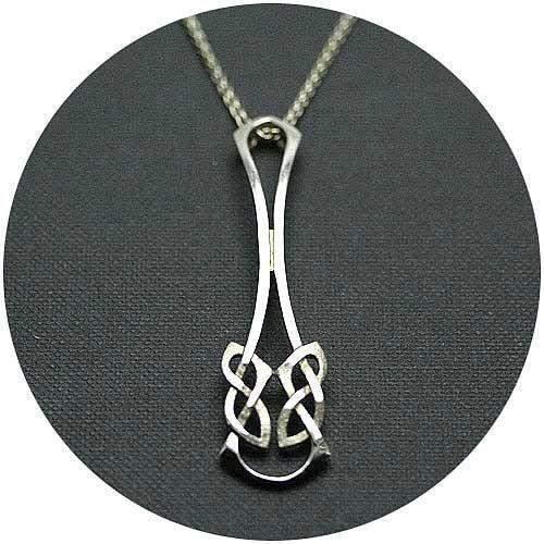 Silver Celtic Necklace N4