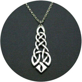 Mithril Silver Celtic Pendant C45-Ogham Jewellery