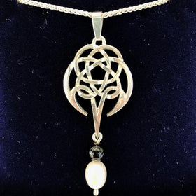 Mithril Silver Celtic Pendant C86-Ogham Jewellery