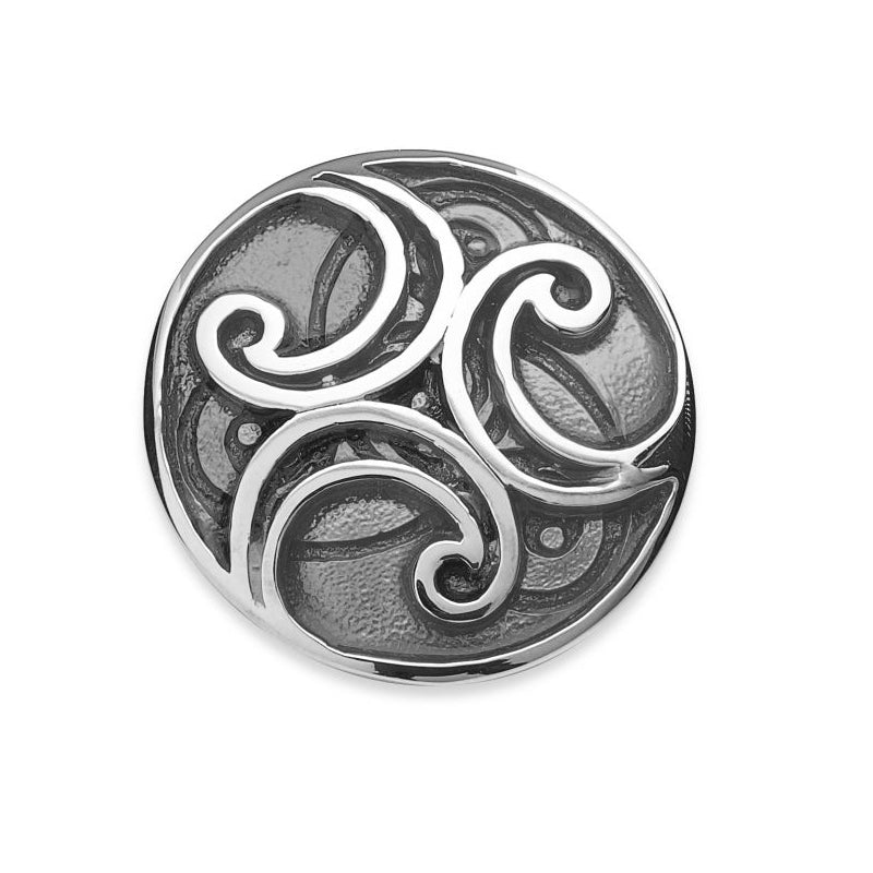 Oronsay Sterling Silver Brooch - NO330