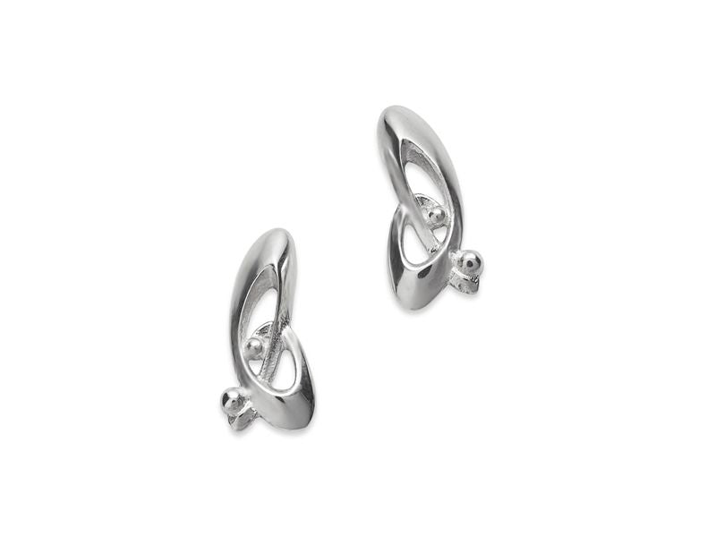 Tiree Celtic Stud Earrings - NO357