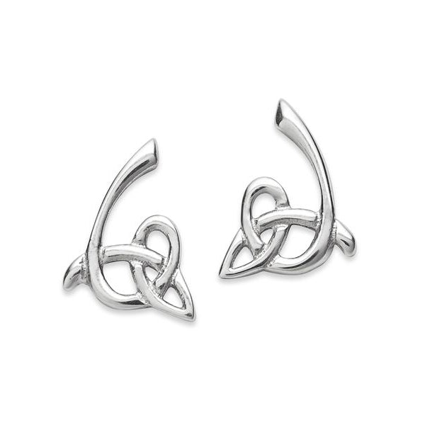 Tiree Celtic Stud Earrings - NO359