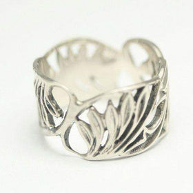 Nurit Levak Designer Flower Ring-R11-Ogham Jewellery