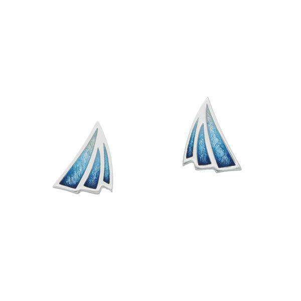 Silver and Enamel Earrings EE474