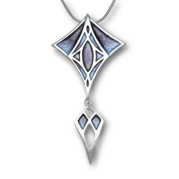 Silver And Enamel Necklace EP758
