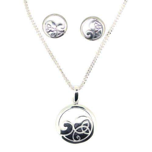Ortak Sterling Silver Set 133-Ogham Jewellery