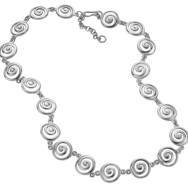 Eorsa Full Celtic Swirl Necklet - P074