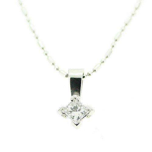 Platinum And Diamond Pendant-PL23-Ogham Jewellery