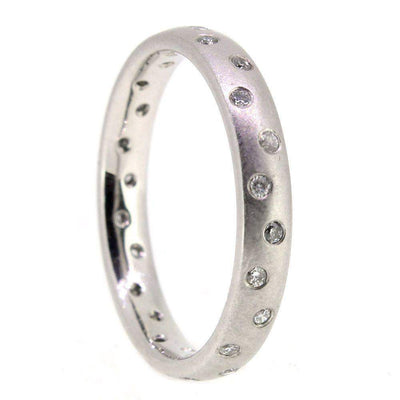 Platinum Diamond Wedding Ring Set-Ogham Jewellery