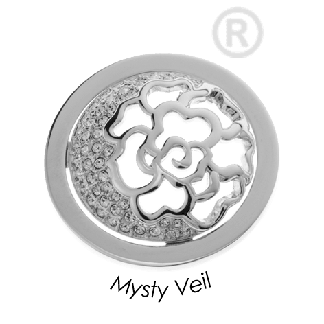 Quoins Mysty Veil Coin Medium - QMOA43M-Ogham Jewellery