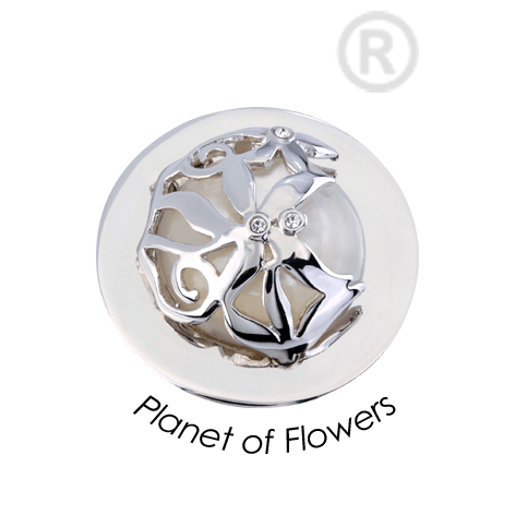 Quoins Planet Of Flowers Coin Small - QMOA38S-Ogham Jewellery