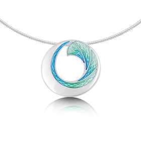 Sheila Fleet Atlantic Breaker Necklet - ENXV1-Ogham Jewellery