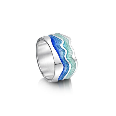 Sheila Fleet Atlantic Swell Ring - ERX88-Ogham Jewellery