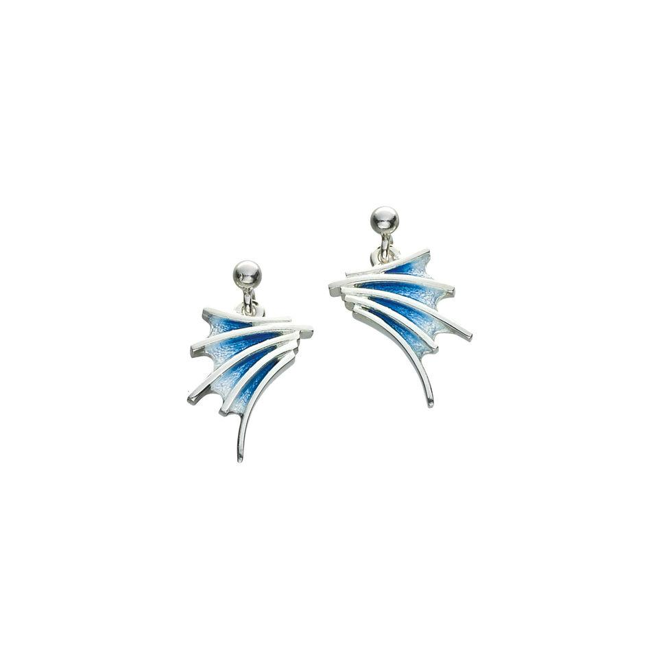 Sheila Fleet Cascade Earrings - EE00150-Ogham Jewellery
