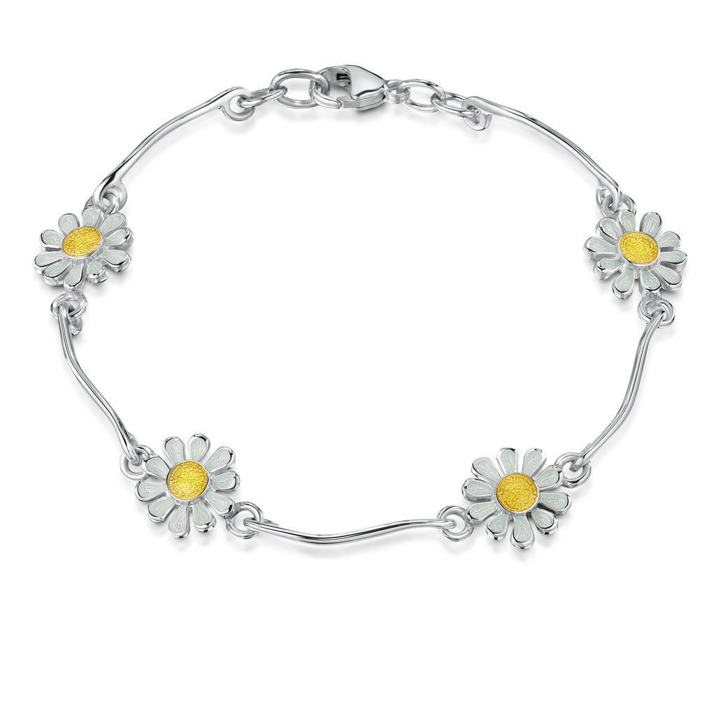 Sheila Fleet Daisies at Dawn Bracelet - EBLX234-Ogham Jewellery