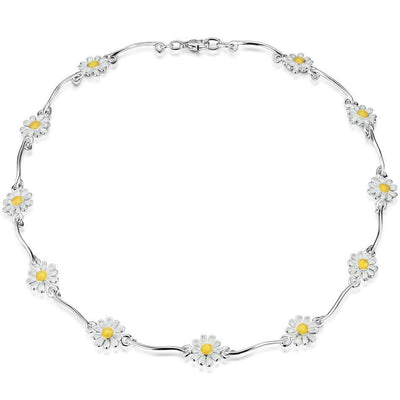 Sheila Fleet Daisies at Dawn Necklace - EN234-Ogham Jewellery