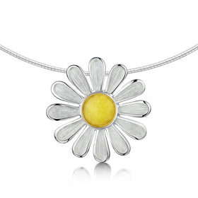 Sheila Fleet Daisies at Dawn Necklet - ENXX233-Ogham Jewellery