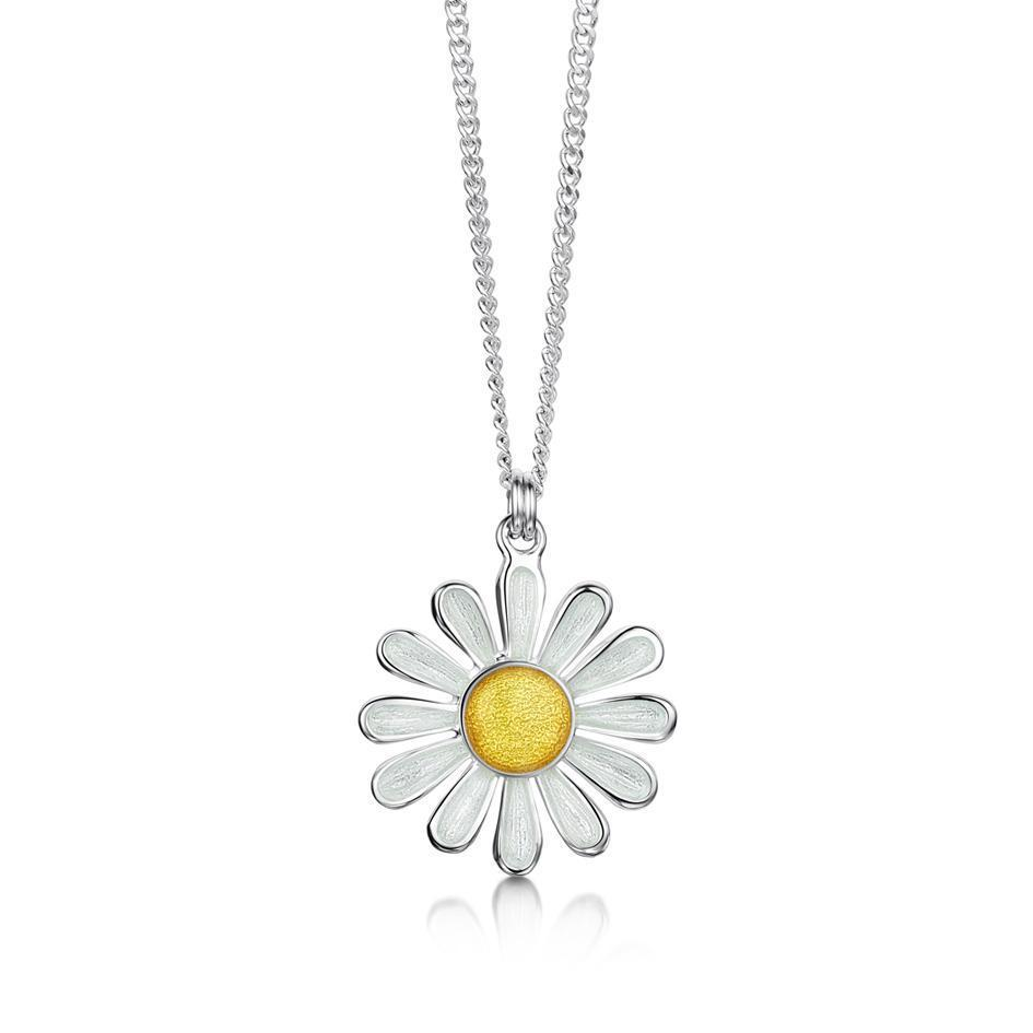 Sheila Fleet Daisies At Dawn Pendant - EPX233-Ogham Jewellery